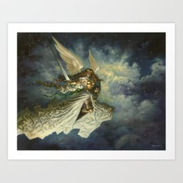 Baneslayer Angel Art Print