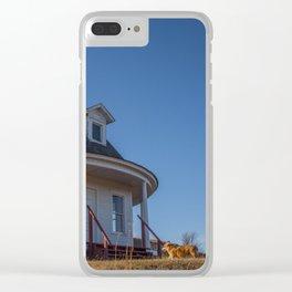 Hurd Round House, Wells County, North Dakota 17 Clear iPhone Case