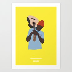 ZISSOU ( The Life Aquatic ) Art Print