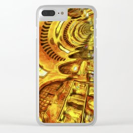 Spice Bazaar Van gogh Clear iPhone Case