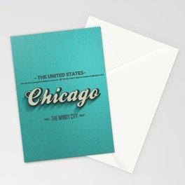 Vintage Chicago Stationery Cards