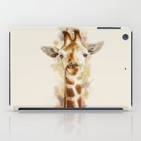 giraffe iPad Cases featuring giraffe by beart24