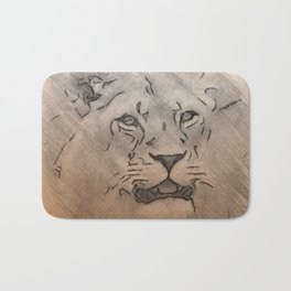 Lmtd Edition Lion Bath Mat