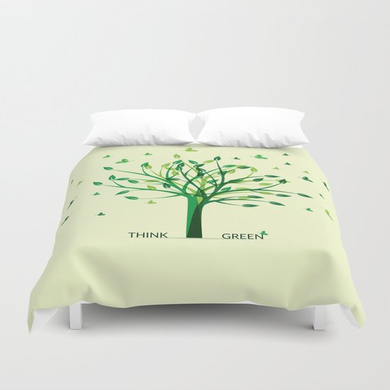 Think green! Duvet Cover