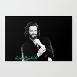 Jared Padalecki Canvas Print