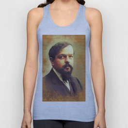Claude Debussy, Music Legend Unisex Tank Top