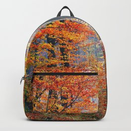 Colorful Autumn Fall Forest Backpack