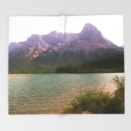 Misty Mountain Throw Blanket