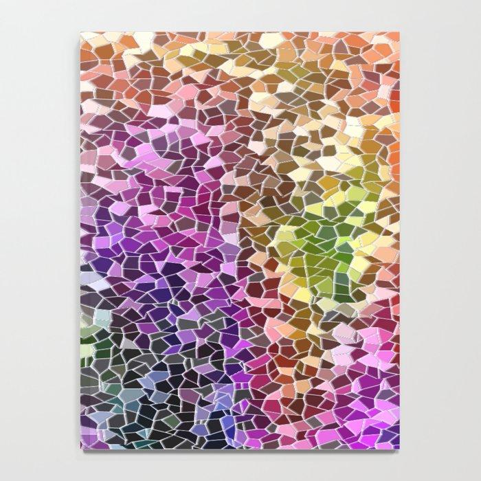 Rainbow Mosaic Notebook