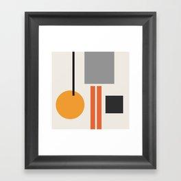 Mid Century 05 Framed Art Print