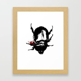 Dead Bug Framed Art Print