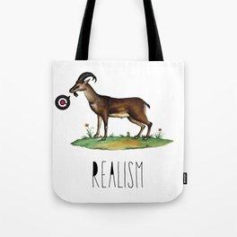 Realism Tote Bag