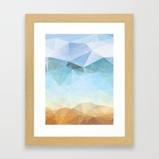 Between Earth and Sky Framed Art Print