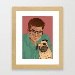 Eggsy & JB Framed Art Print