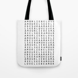 Can you find the love? Tote Bag