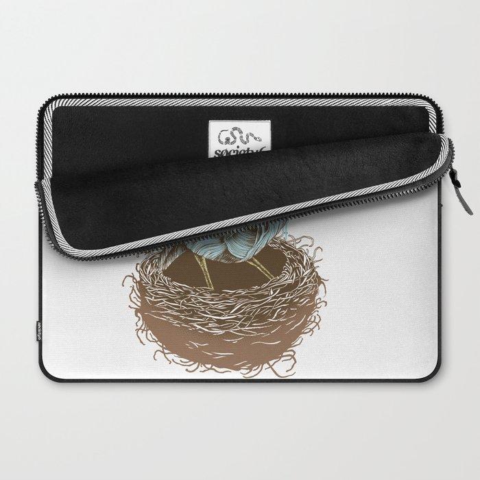 Twisty Bird Laptop Sleeve