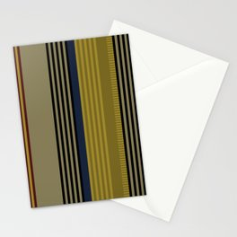 Vertical stripes #1 Stationery Cards