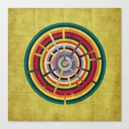 Lost in color Canvas Print