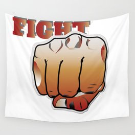 This is our Fist Wall Tapestry