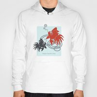 the life aquatic Hoodies featuring Happy Aquatic Days by Wind-Up Sprout Design