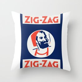 ZIG-ZAG 3 Throw Pillow