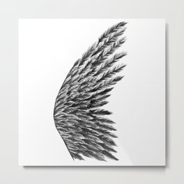 Angel Wing Metal Print