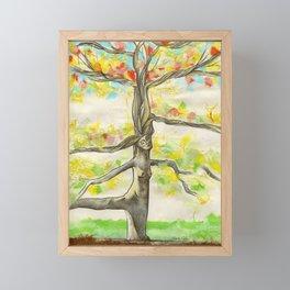 Lady Larch Framed Mini Art Print