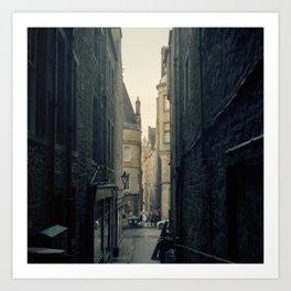 Edinburgh after the rain Art Print