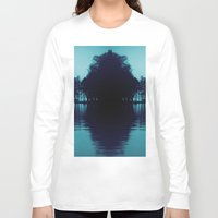 finland Long Sleeve T-shirts featuring Finland Mysteries by Onaaa
