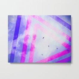 Soaring, Flying Metal Print