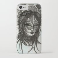 witch iPhone & iPod Cases featuring witch by ASTRA ZERO