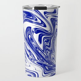 Marble,liquified graphic effect Travel Mug