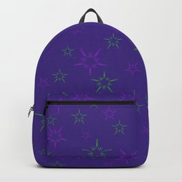 Purple Stars Backpack