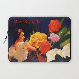 Veracruz Travel Poster Laptop Sleeve