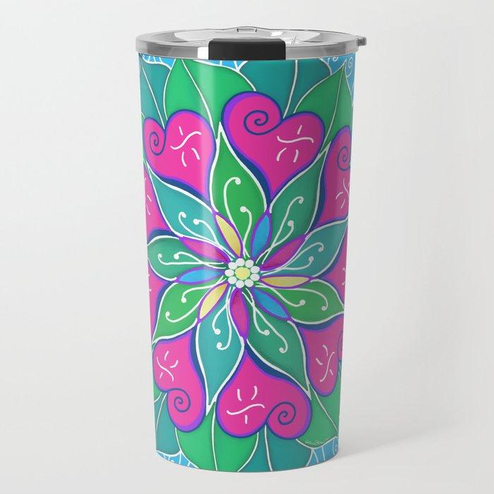 Love Bloom Travel Mug