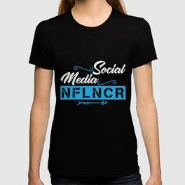 Social Media Influencer | NFLNCR T-shirt