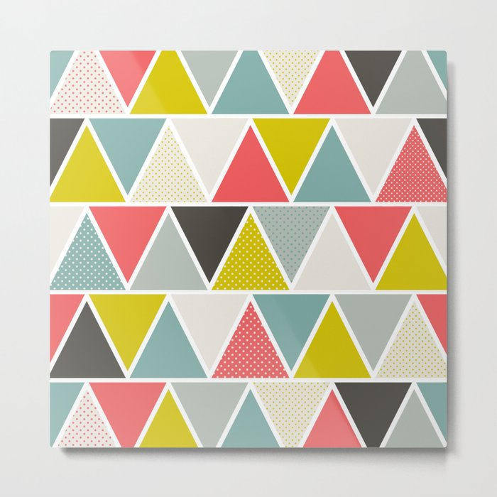 Triangulum Metal Print
