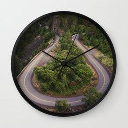 Rowena Crest Wall Clock