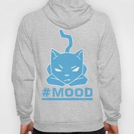 #MOOD Cat Blue Hoody
