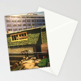 China Basin & Blanche's Restaurant San Francisco 1982 Stationery Cards