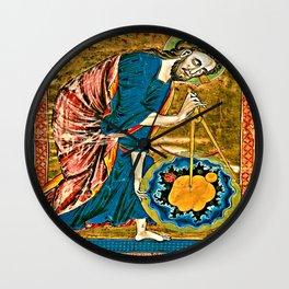 God the Geometer Wall Clock