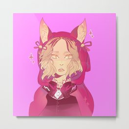 Little red kenma Metal Print