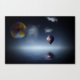 NIGHT RIDERS Canvas Print