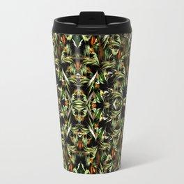 Greenfield pattern Travel Mug