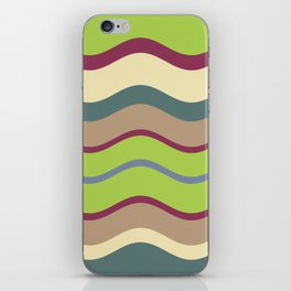 Appley Wave iPhone Skin