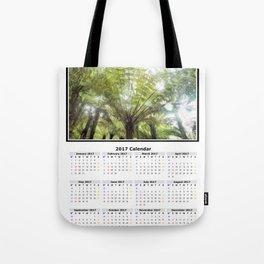 Fern tree, NZ Calendar 2017 Tote Bag