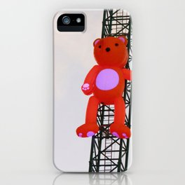 High There Bear iPhone Case