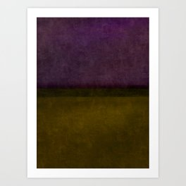 Imagining Rothko #14 Art Print