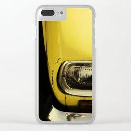Com os Cabelos ao Vento Clear iPhone Case