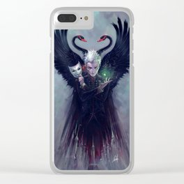 THE SCHOOL MASTER Clear iPhone Case